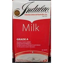 Indulac shelf stable milk 1 liter