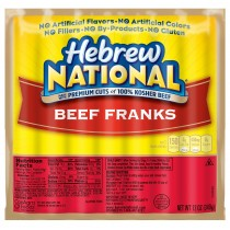Hebrewnational Beef Hot Dogs 7pack