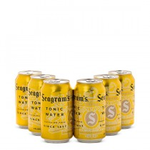 Seagrams Tonic Water 6 Pack