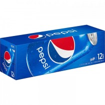 Pepsi 12 Pack cans