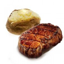 New York Strip Steak or Rib eye Steak (8-10 oz. steak)